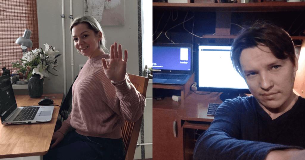 Proekspert employees share remote work experiences