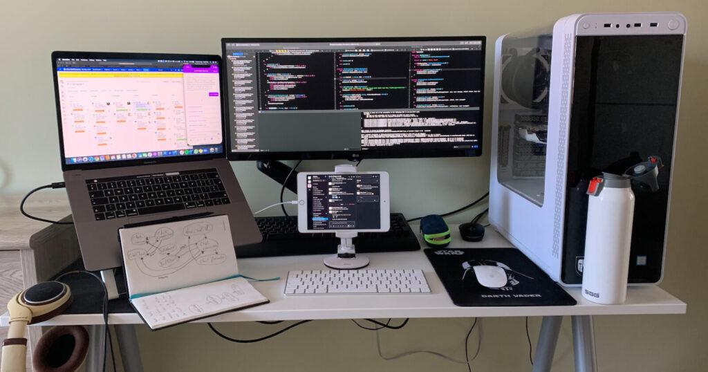 Proekspert remote work diary. Setup